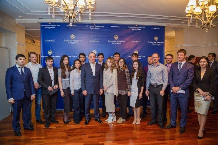 Обладатели грантов Северо-Кавказского молодежного форума «Машук-2015»