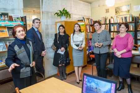 Встреча Главы Республики с сотрудниками библиотек