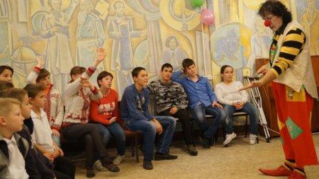 Всемирный день ребенка в КЧРДБ им. С.П. Никулина.