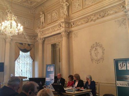 Министр культуры КЧР Мадина Гогова принимает участие в IV Международном культурном форуме в Санкт-Петербурге
