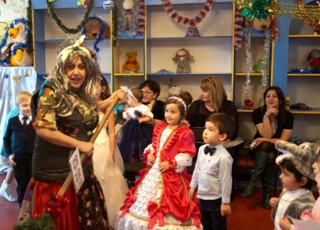 Новогодние праздники для читателей Республиканской детской библиотеки им. С.П. Никулина