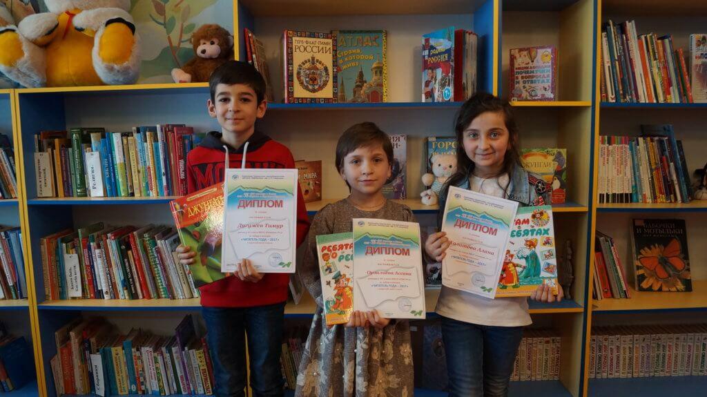 Победители и призеры среди 3-х классов